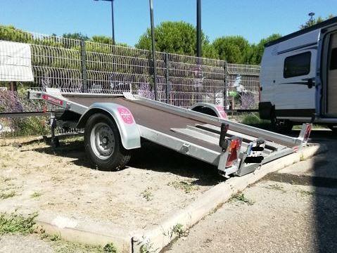 Remorque voiture basculante SATELLITE